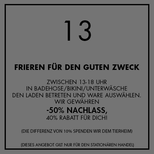 Adventskalender Aktion Nr. 13